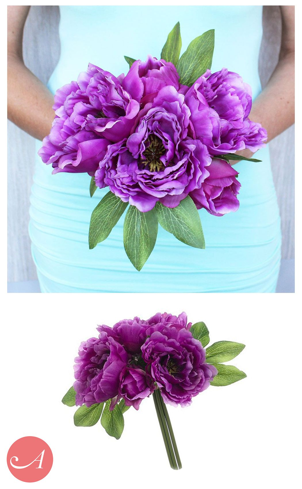 Bouquets under 25 at afloral pre made silk flower bouquets your source for beautiful inexpensive artificial wedding bouquets online shop afloral for silk weddings flowers the allergen free hassle free and izmirmasajfo