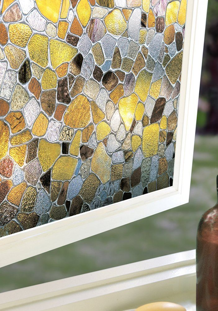 Amazon.com: First Stained Glass Window Film 24-by-36-Inches: Home & Kitchen