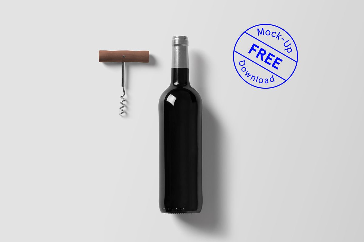 A High Quality Wine Bottle Psd Mockup By For Graphic Bottle Mockup Mockup Free Psd Free Psd Mockups Templates