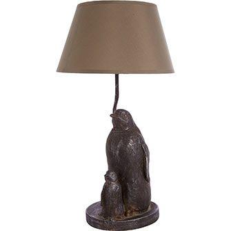 Mummy U0026 Baby Penguin Lamp