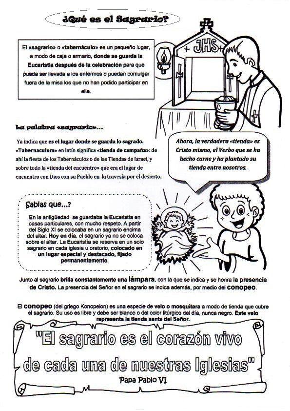El Rincón de las Melli | Religión | Pinterest | Catecismo ...