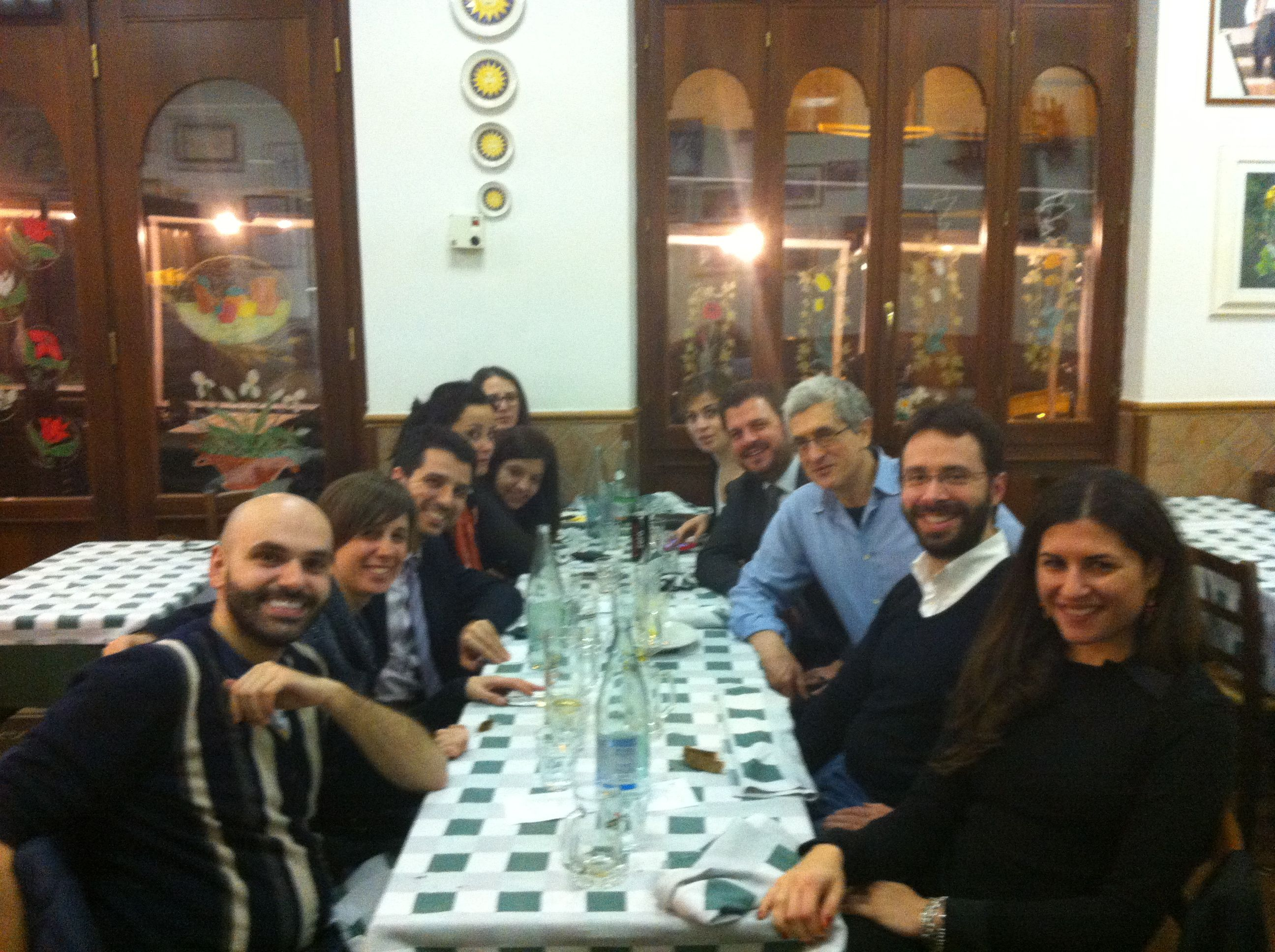 Pizza in Rome with young managers of ItaliaCamp.