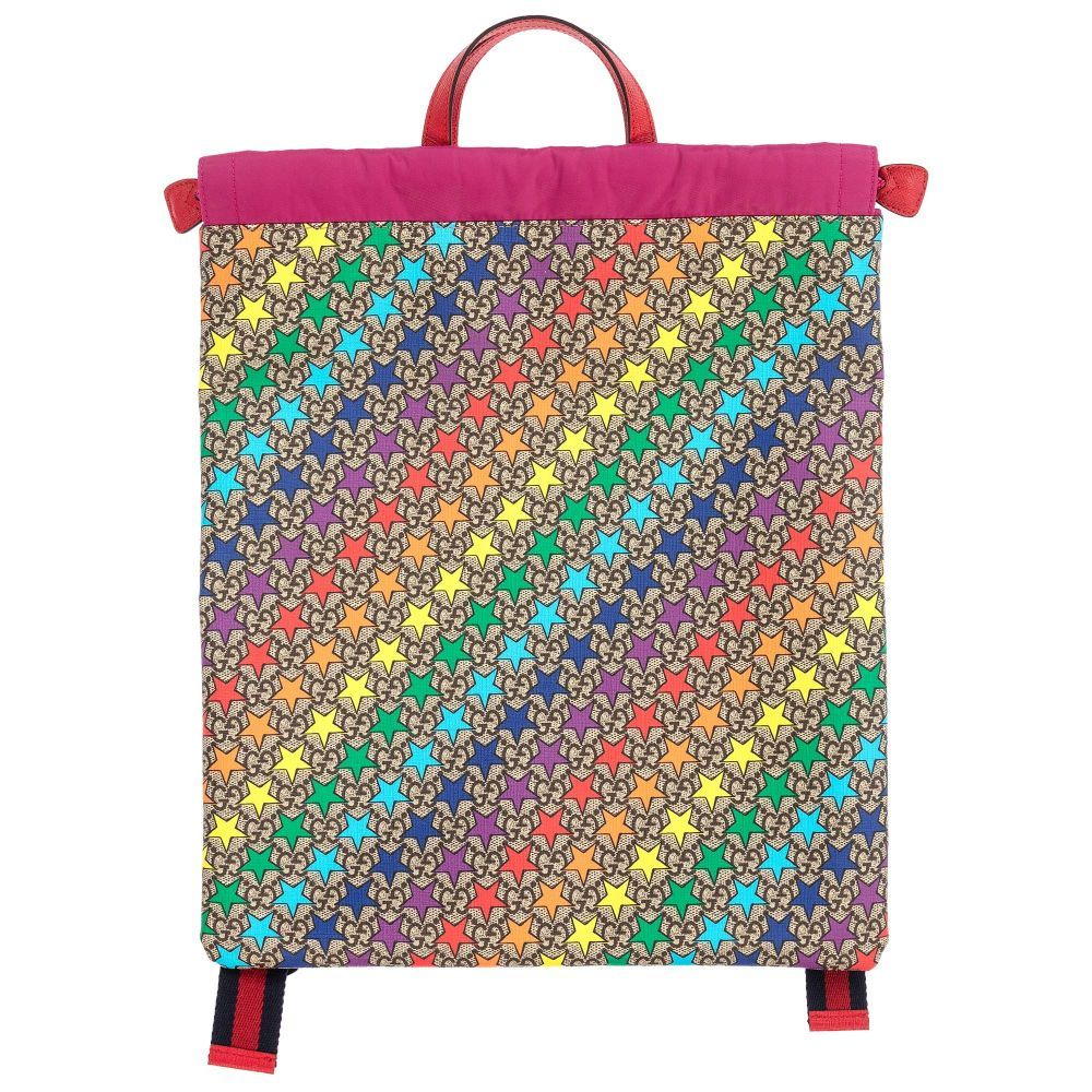 6238d70d502 brand Rainbow Stars Backpack (39cm) at Childrensalon.com