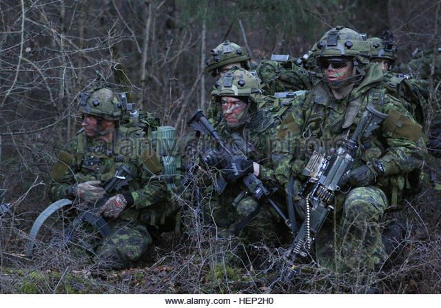 Canadian Soldiers Of 3rd Battalion The Royal Canadian Regiment Conduct Hep2h0 Jpg 640 447 Canadian Military Canadian Army Canadian Soldiers