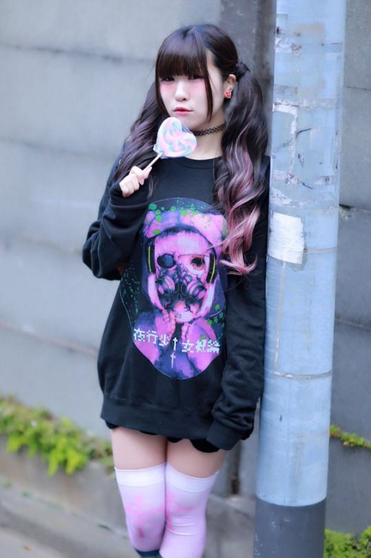 ebed01cad 日本 Fashion!! ❤ | Kawaii Things | Pastel goth fashion, Kawaii ...