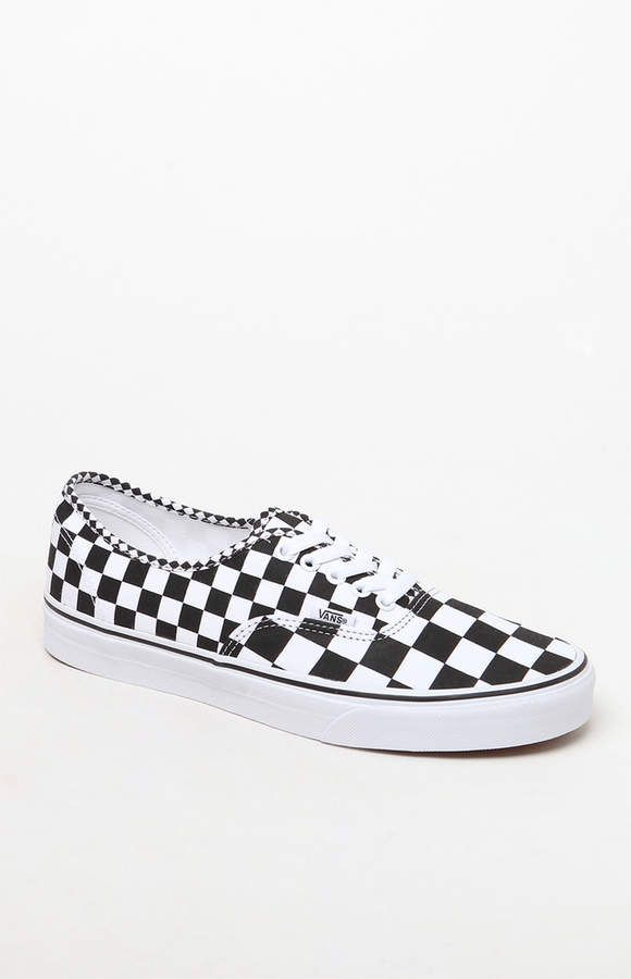 a59ec28897 Vans Authentic Mix Checker Shoes