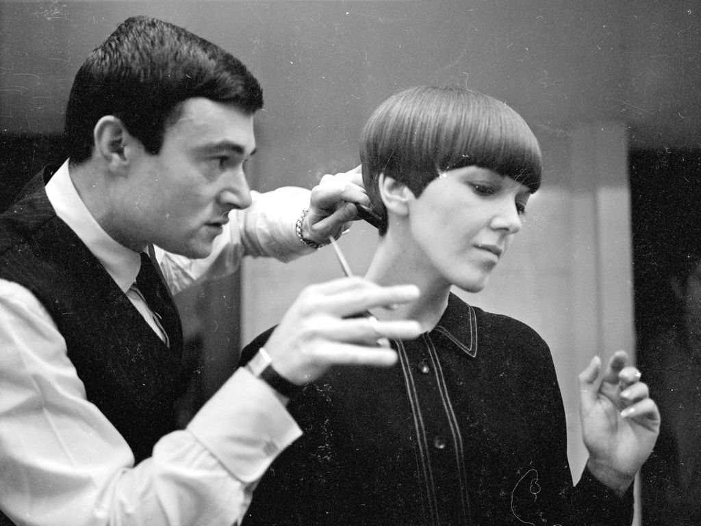 Boy hairstyle new cutting vidal sassoon the man who invented modern hairdressing dies aged