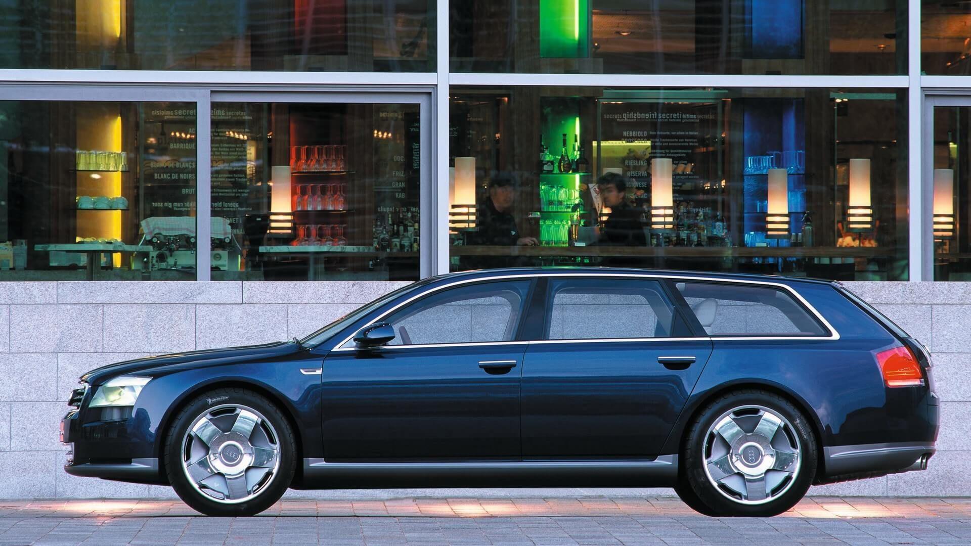Audi Avantissimo Concept Is The A8 Avant That Didn T Happen Audi Audi R8 Spyder Concept