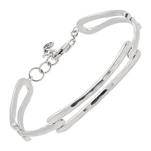Silpada Triple Link Sterling Silver Bracelet 7 1