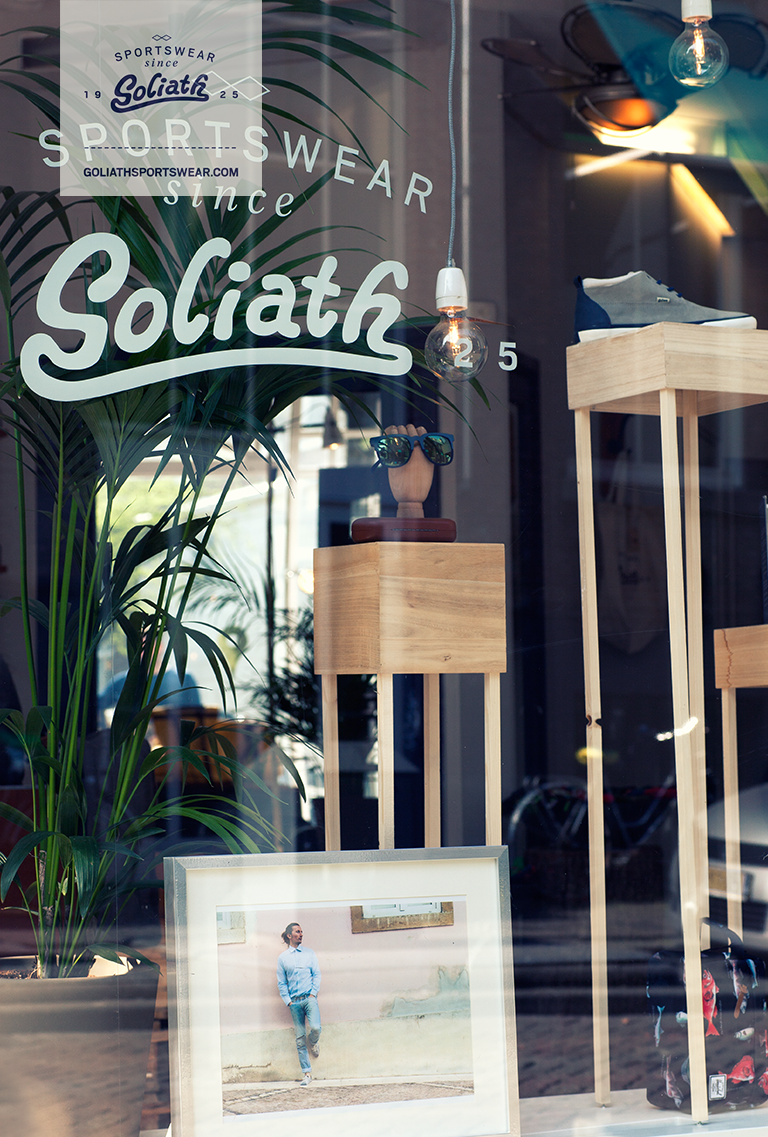 Goliath Spring/Summer 2014 collection available in our flagship store! #goliath #sportswear #spring #summer #collection #shoes #rotterdam