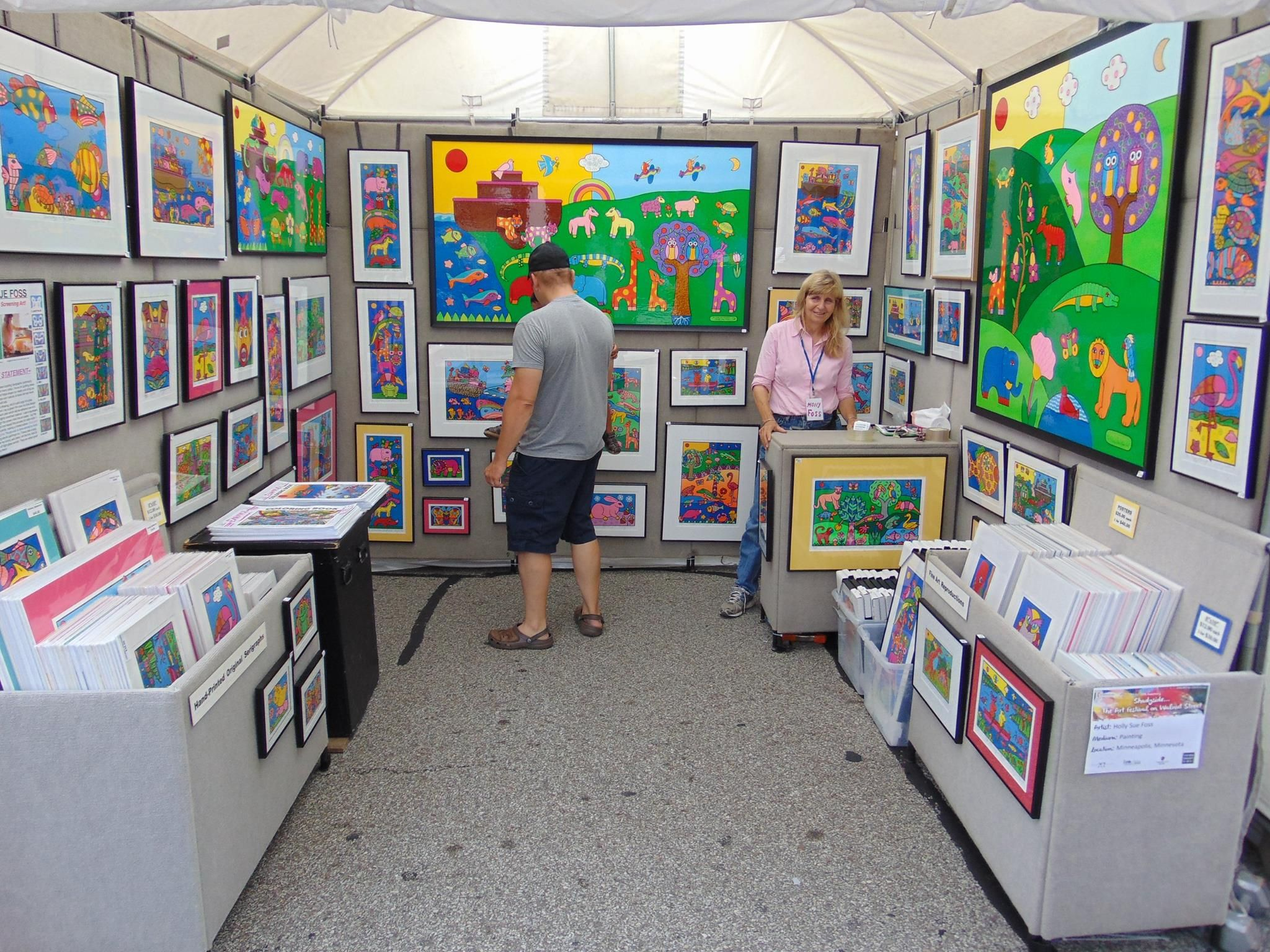 Propanels Lightweight Portable Art Display Panel Booth System Panels Festival And Craft Shows