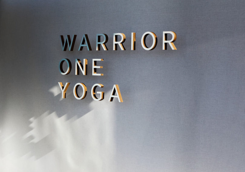 GOLDEN Delivers an Organic, Sensory-Focused Yoga Studio for Warrior One