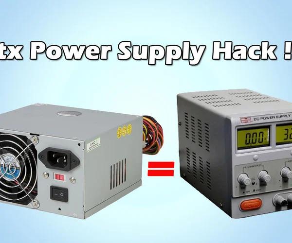 Diy Bench Power Supply From Atx Psu Power Generator Diy Bench Diy Electronics