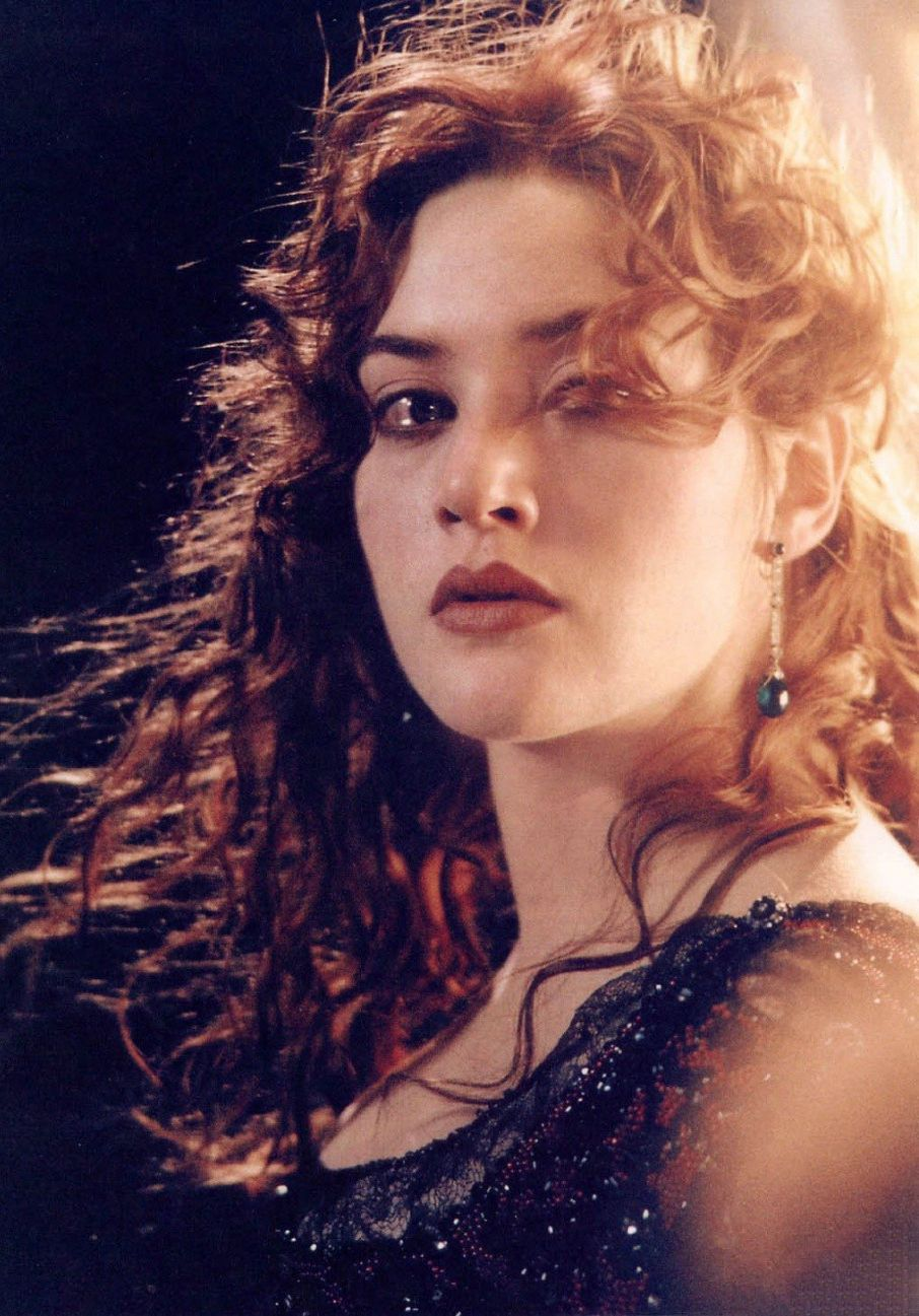 kate winslet in titanic. she was breathtakingly beautiful in this
