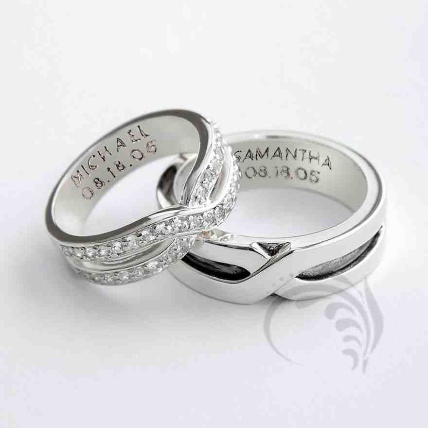Wedding Ring Sets His And Hers Wedding Ring Sets Matching Wedding Rings Wedding Rings Unique