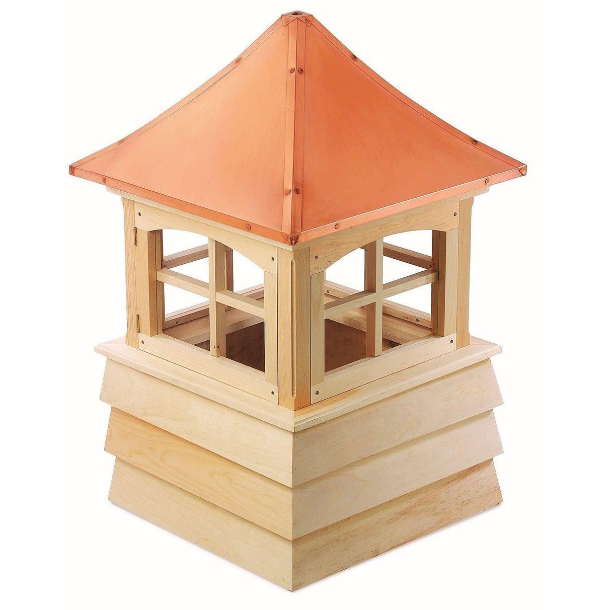 Best 49 Handcrafted Guilford Copper Roof Wooden Cupola White 400 x 300