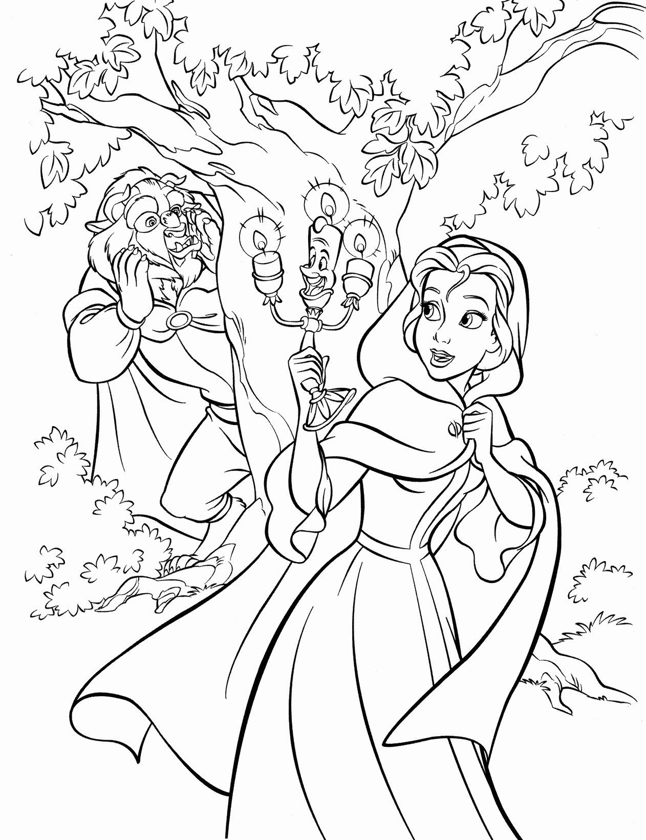 Beauty And The Beast Coloring Book Beautiful Walt Disney Cute Kawaii Resources Belle Coloring Pages Disney Coloring Pages Princess Coloring Pages