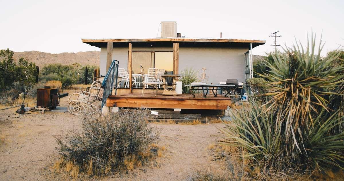 Joshua Tree Mountain House Thunderbird Lodge Retreat Ca 6 Hipcamper Reviews And 43 Photos Joshua Tree Thunderbird Lodge Mountain House