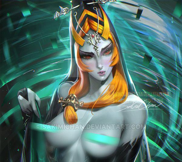 Me, please legend of zelda midna nude