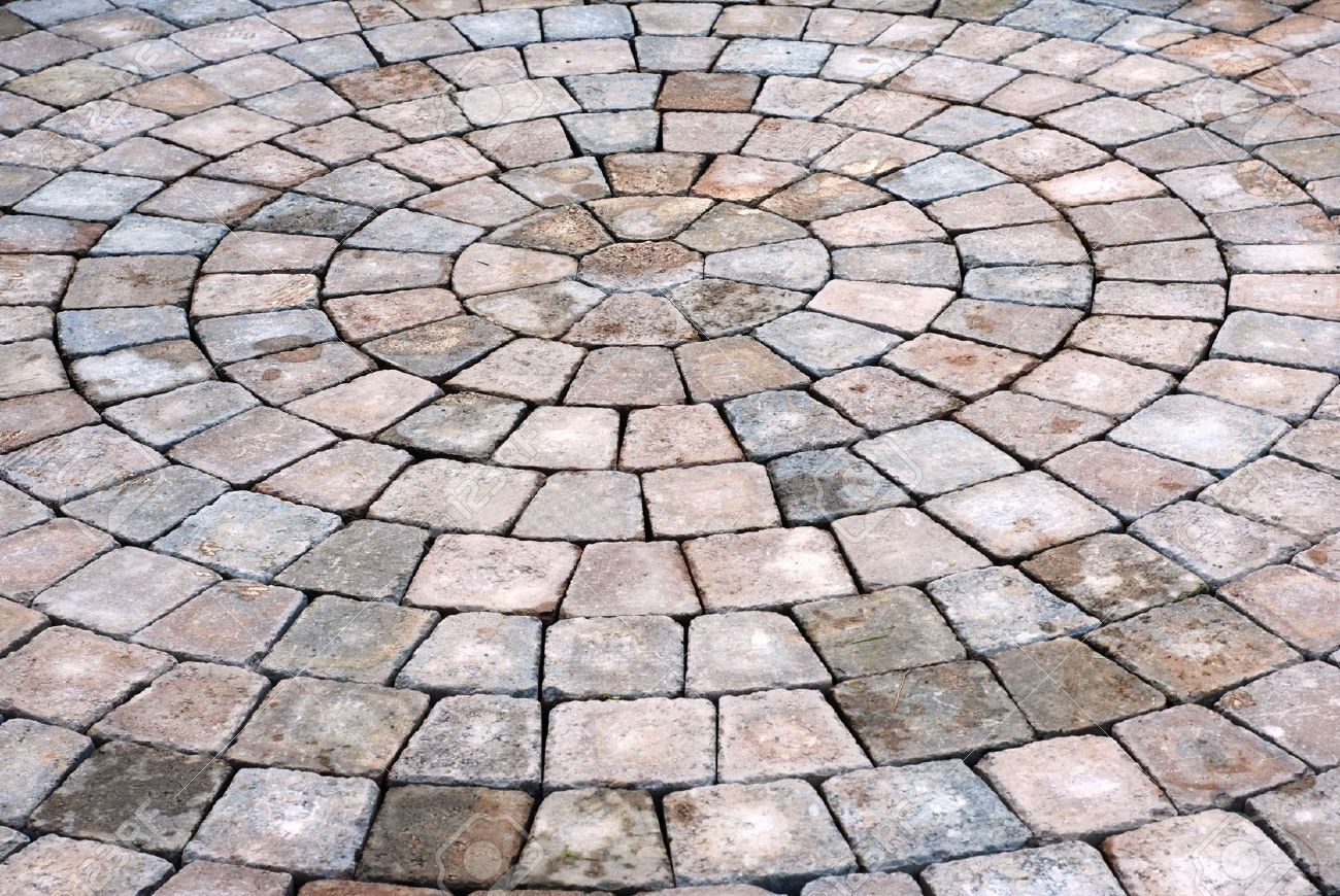 Patio Bricks Background Stock Photo, Picture And Royalty Free ...