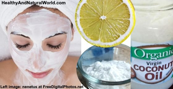 how to use lemon on your face
