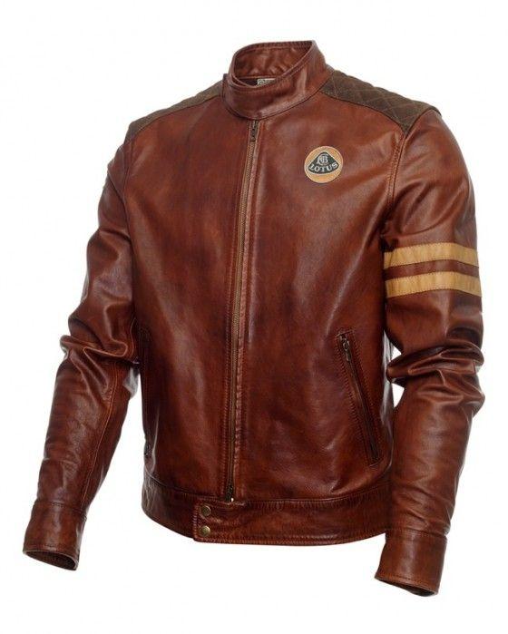 Lotus Originals Heritage Racing Leather Jacket