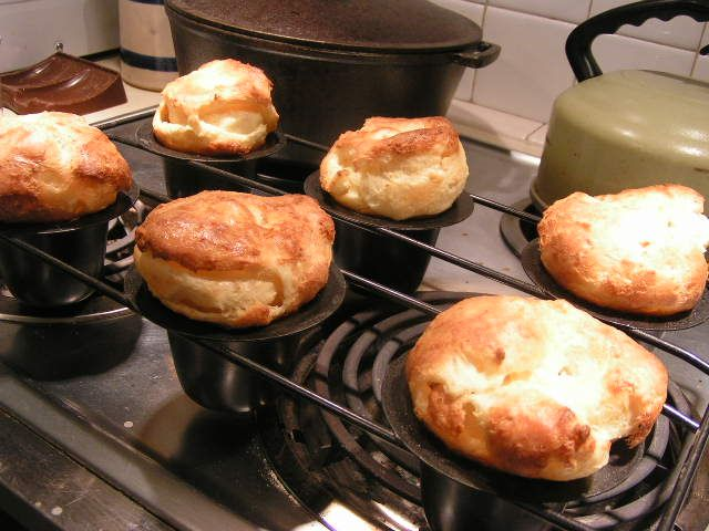 Lucious, Buttery Popovers