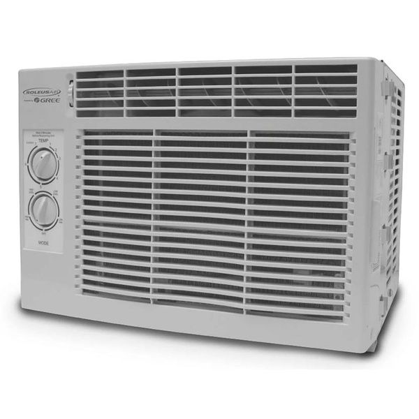 Soleusair 5 000 Btu 9 7 Eer 115v Window Mount Room Air Conditioner A C Unit Window Air Conditioner Room Cooler Cool Rooms