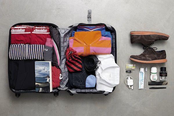 La valise de Charles Kaisin