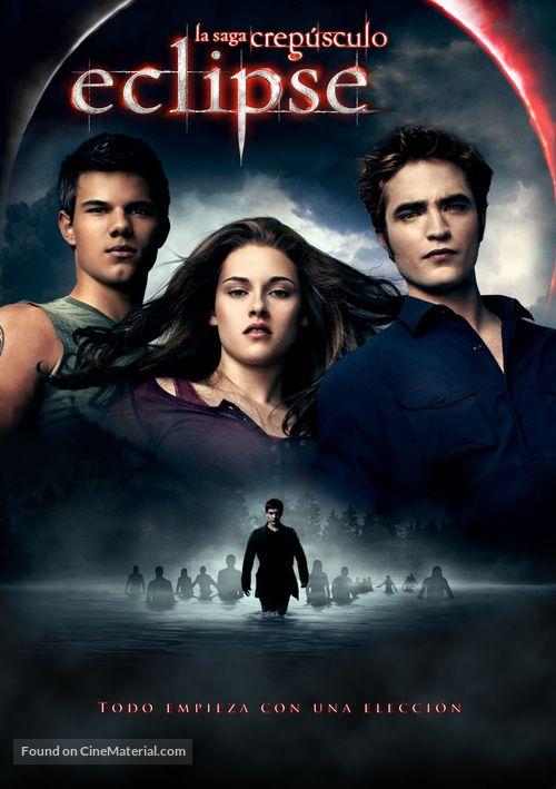 The Twilight Saga: Eclipse (2010) Argentinian movie poster