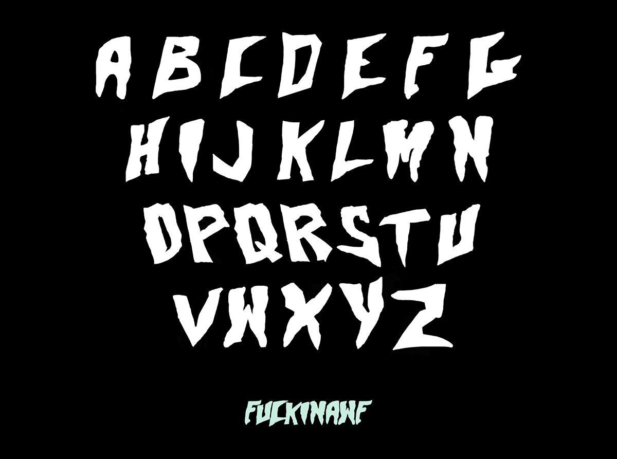Skate And Destroy Font Download