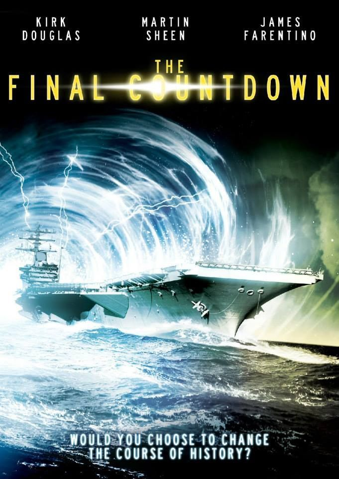Film Countdown: The Final Countdown: Movie Poster One Of 'G's Favorite