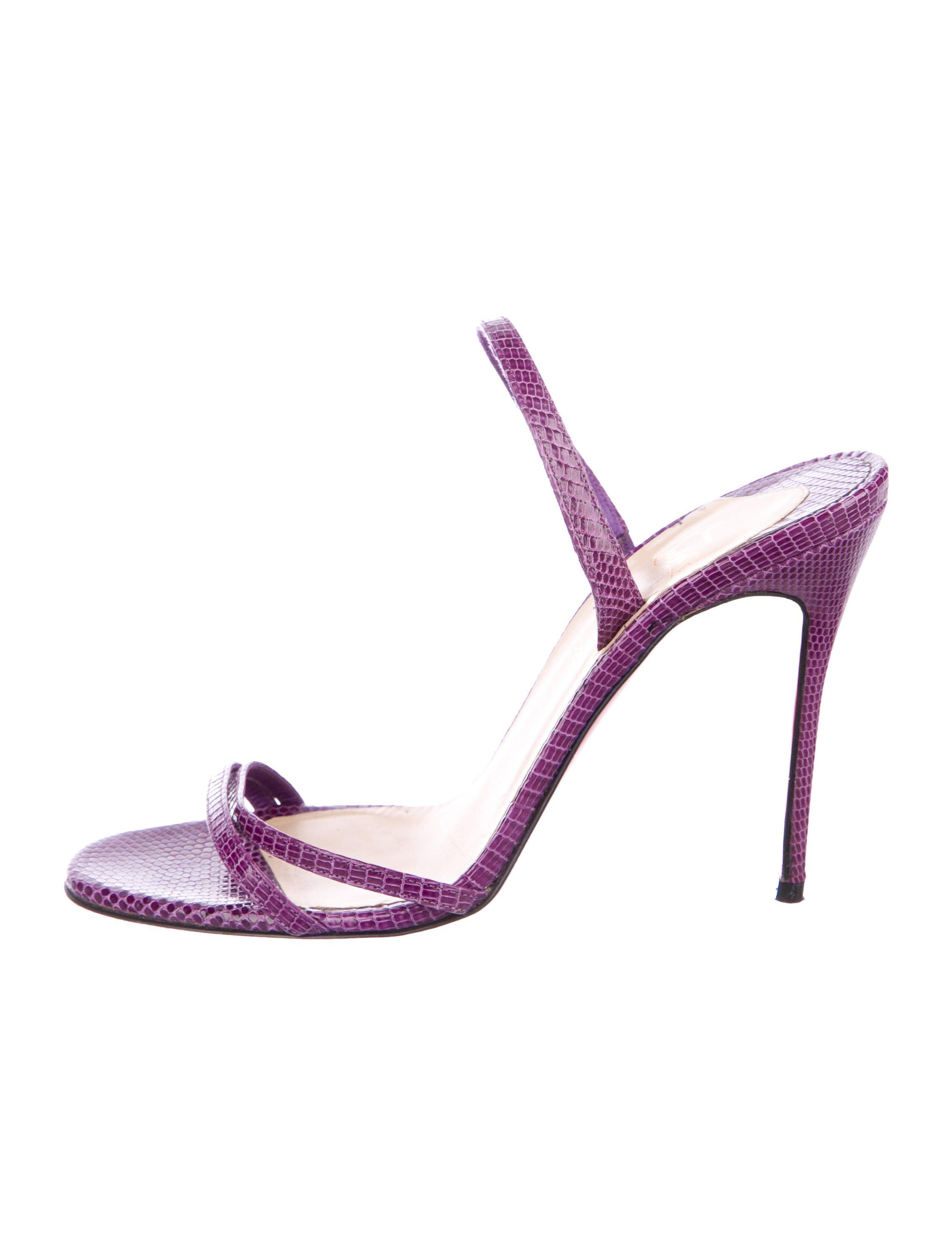 838aa07e7645 Christian Louboutin Lizard Crossover Sandals - Shoes - CHT92762