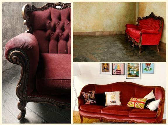 rojo vintage
