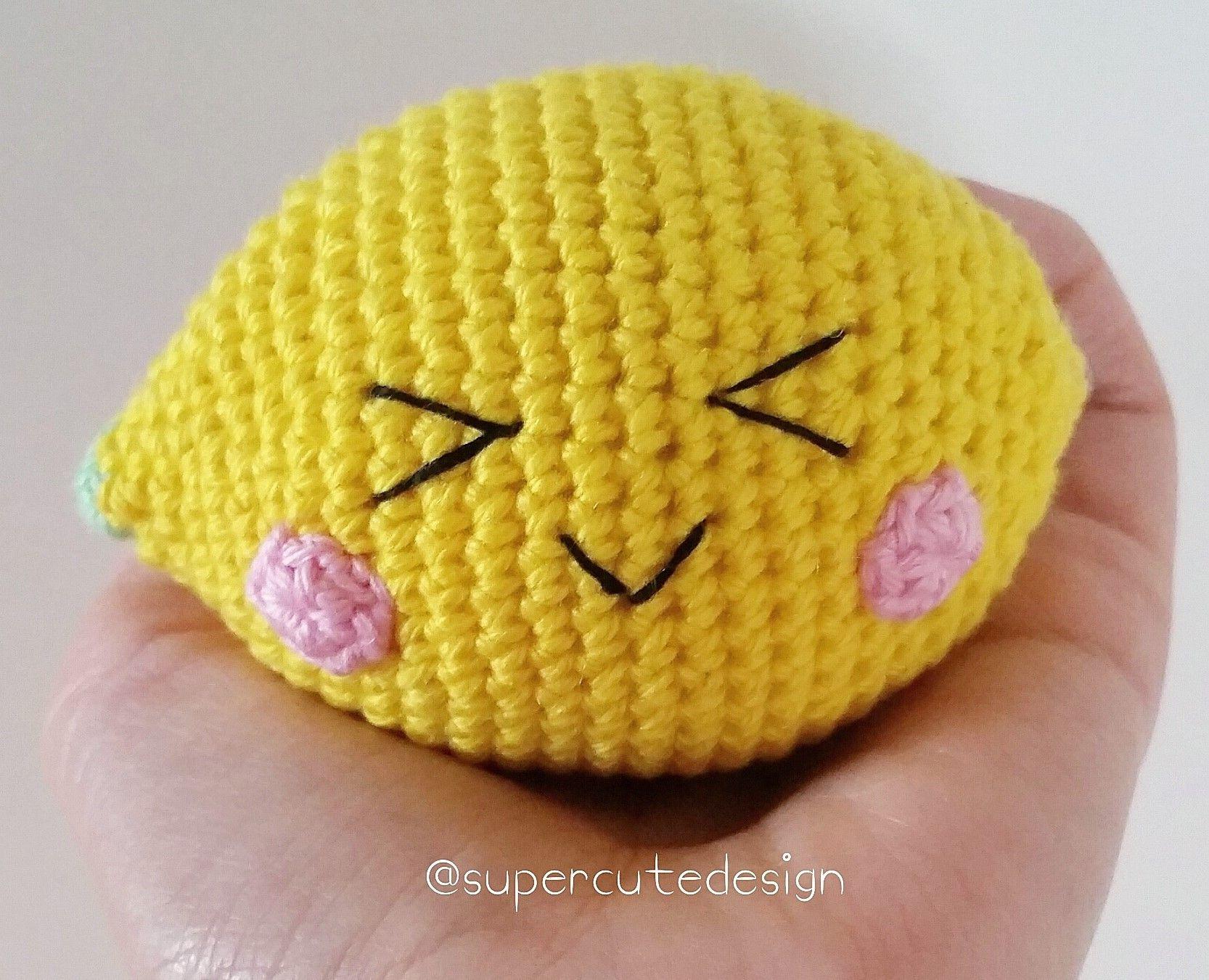Pocoyo Amigurumi Nacións : Lemon by jennifer free crochet pattern supercutedesign