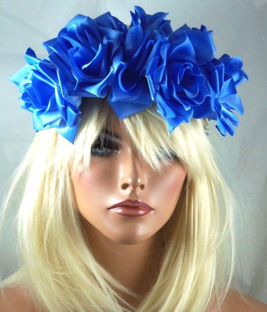 Festival boho hippie flower headband crown hair piece floral head festival boho hippie flower headband crown hair piece floral head piece halo izmirmasajfo Gallery