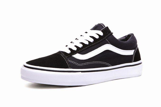 afc655e987 Vans Old Skool Paul Walker Black White Zipper Men s Shoes  Vans ...