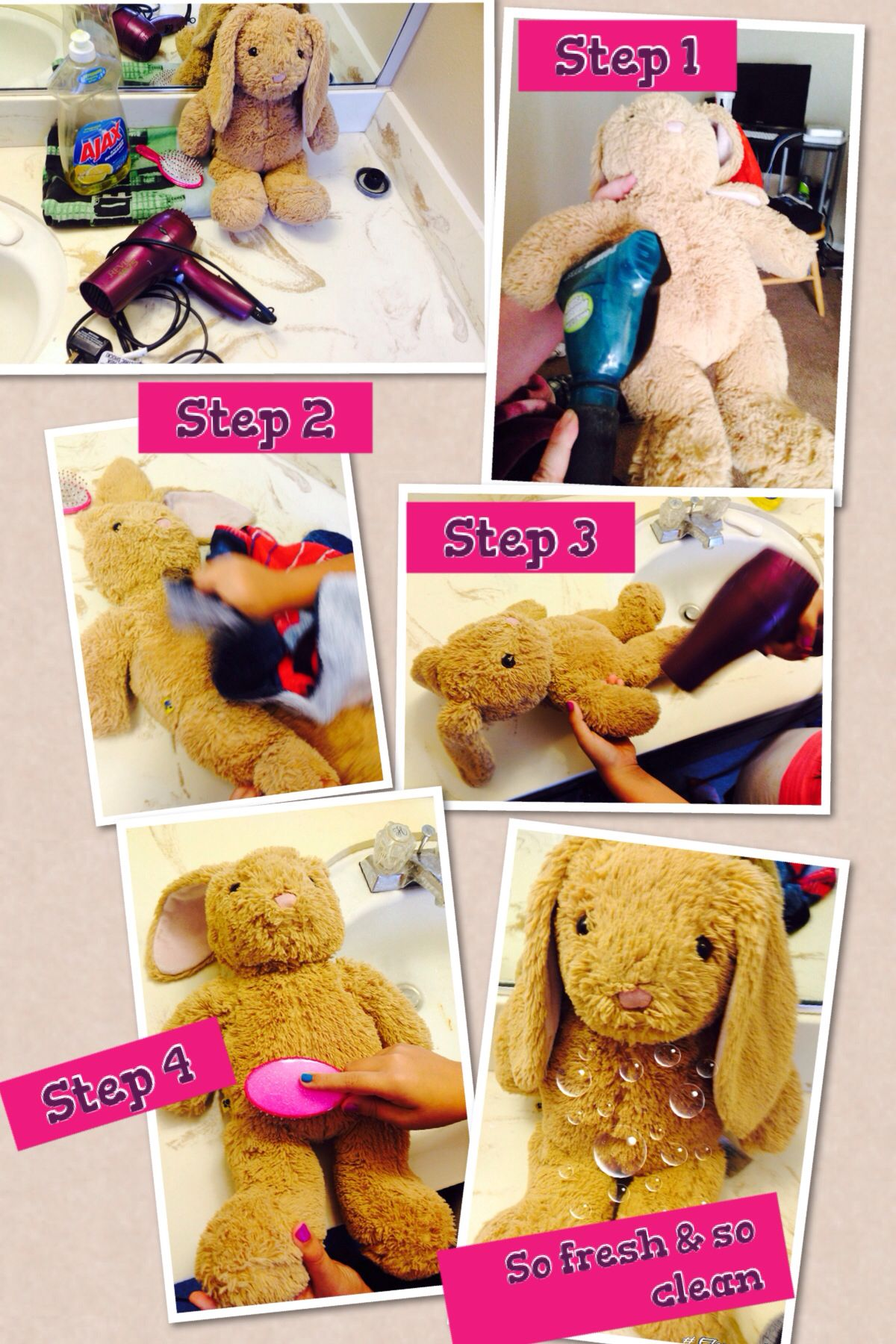 Pin By Julia Navarrete On Surface Wash Your Stuffed Animal Clean Stuffed Animals To My Daughter Surface Cleaner