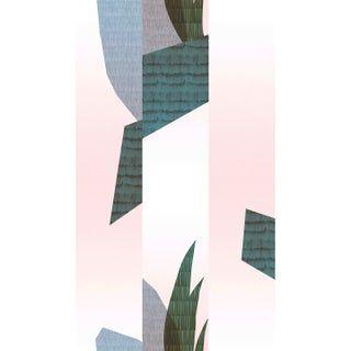 Papier peint vinyle sur intissé Capsule des créateurs Lucille Boitelle multico | Papier peint ...