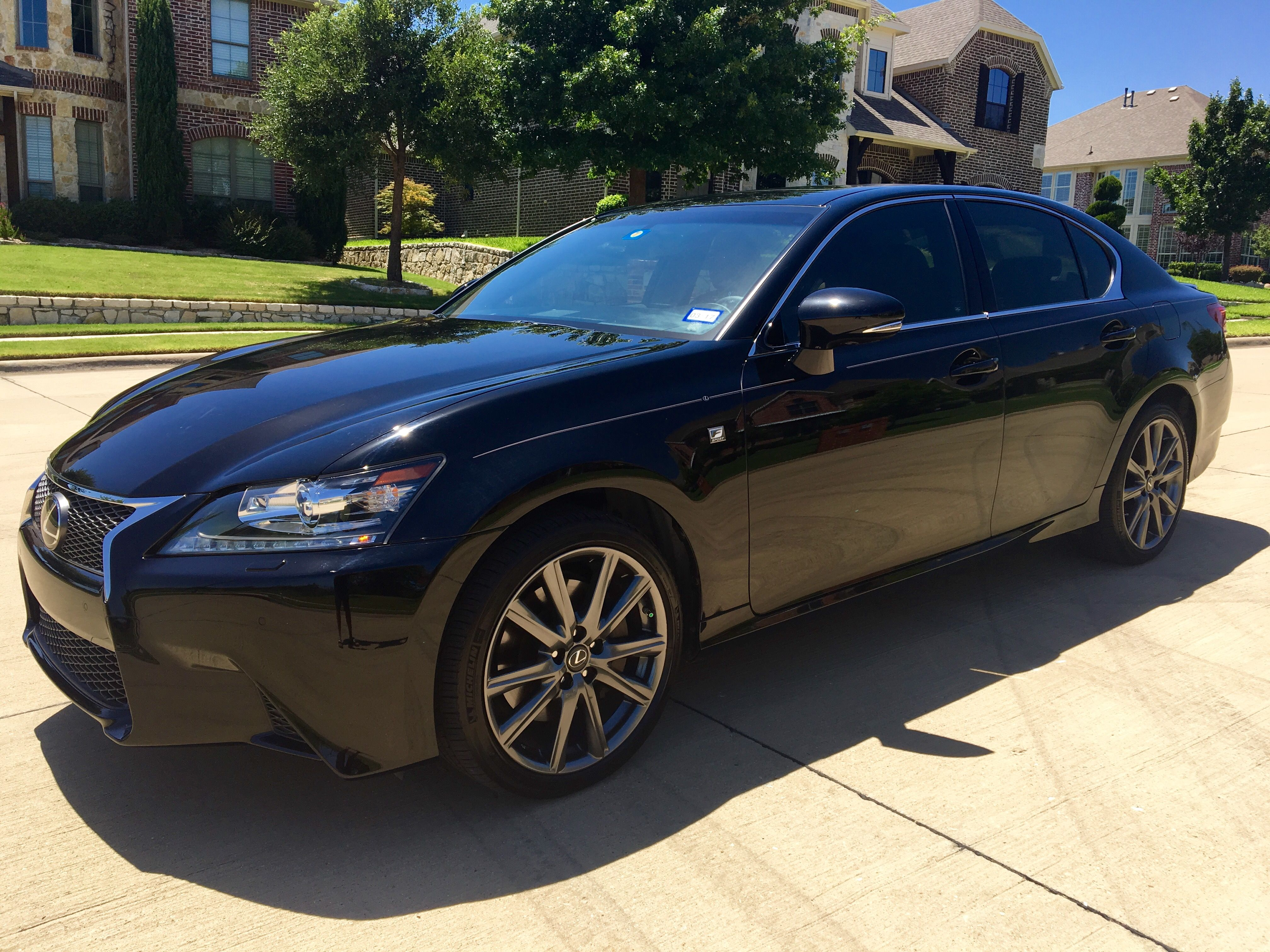 2015 Lexus GS350 F Sport All Wheel Drive $47k dallas