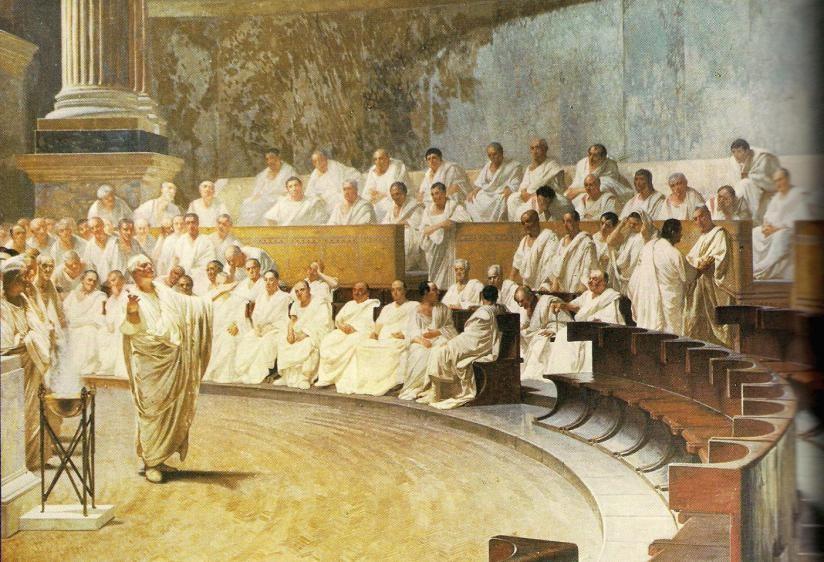 The Roman Senate.