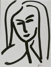Fast & Affordable Framing  Matisse Line Drawing