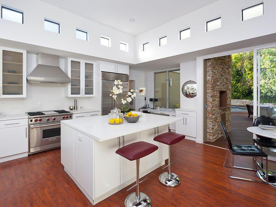 10 homes with beautiful clerestory windows modern kitchen island cheap kitchen islands on kitchen island ideas cheap id=24289