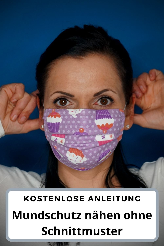 Photo of Mundschutz nähen ohne Schnittmuster – kostenlose Anleitung