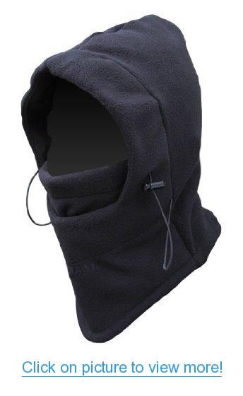 Unisex Winter Warmer Face Cover Beanie Hat Snood Scarf Ski Balaclava Hats