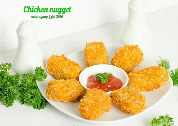 Resep Chicken Nugget Oleh Susi Agung Resep Chicken Nuggets Makanan Ayam