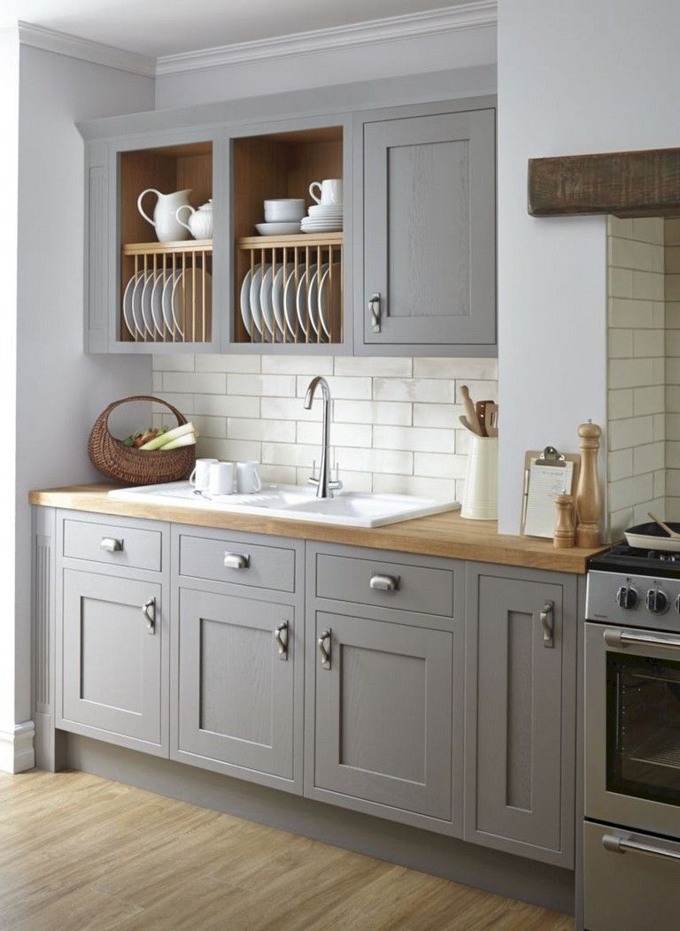30 Top Kitchen Cabinet Design Ideas For Small Spaces Grey Kitchen Inspiration Kitchen Cabinet Design Country Kitchen Decor