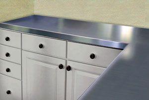 Stainless Steel Countertops Kitchen Countertops Stainless Steel