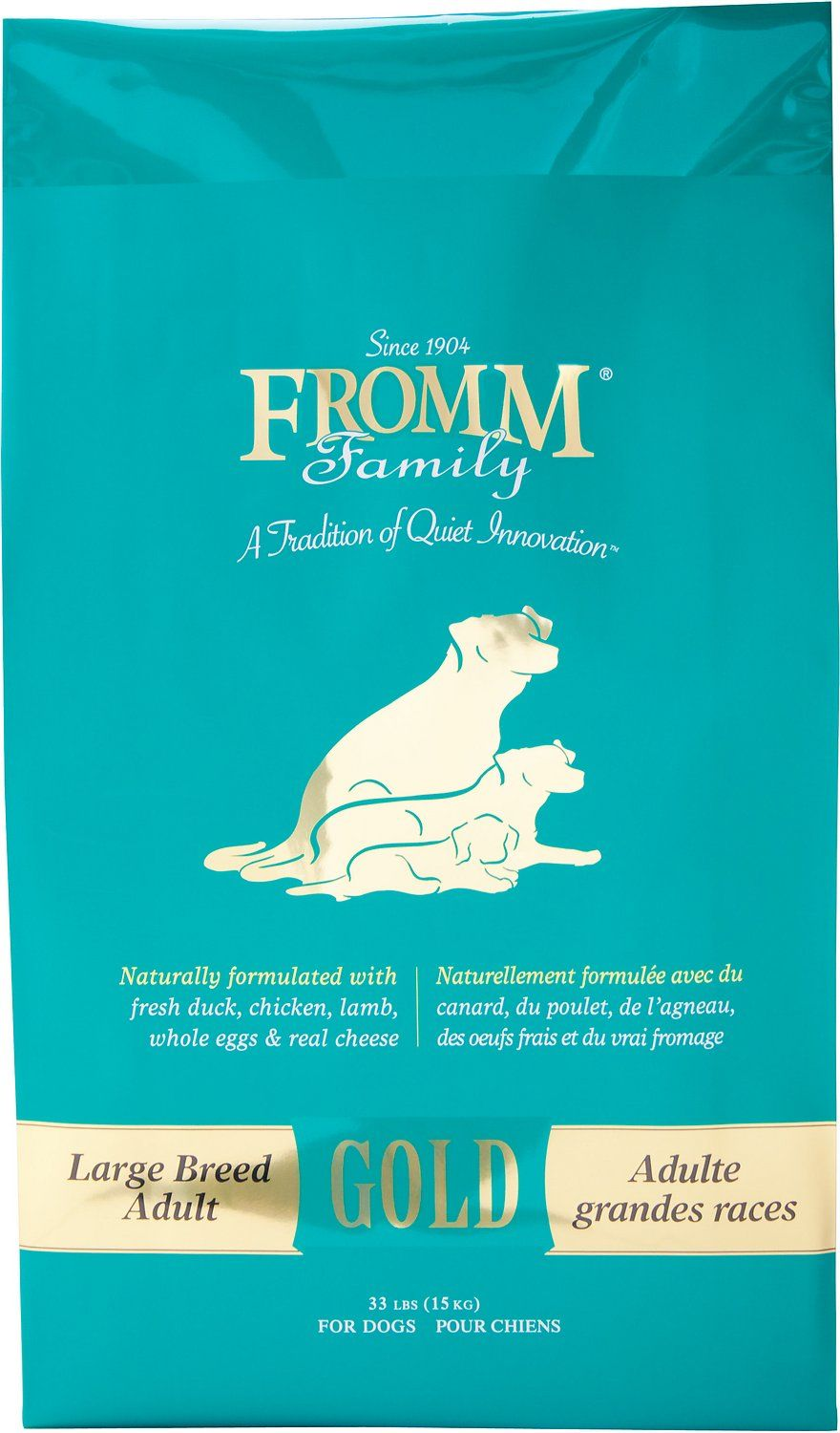 Support your dog's nutritional needs with the Fromm Gold