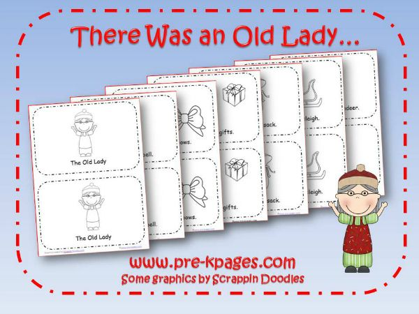 Old Lady Who Swallowed a Bell Printable Popular books Emergent